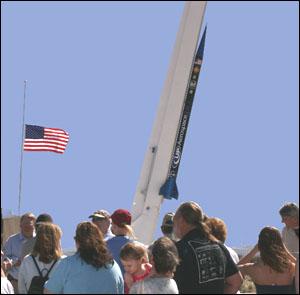 Celestis Spaceport America launch pad tourLaunch Pad Tour