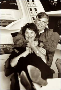 Star Trek's Majel and Gene Roddenberry