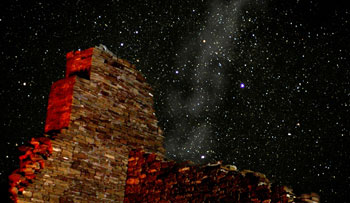 Stars over Chaco Canyon