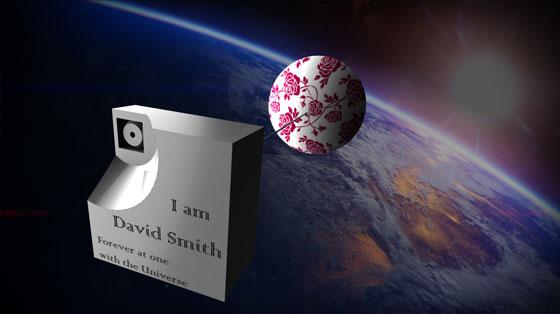 Celestis Thumbsat in Earth orbit