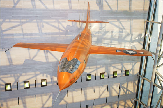 Bell X-1 in National Air & Space Museum