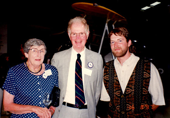 Catherine and David Hannah, together with Eric Lindbergh